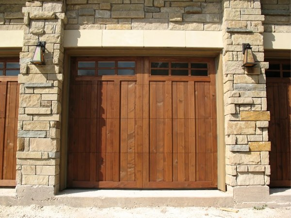 Georgetown garage repair for Cedar wood garage doors price